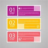 Modern plan designmall Arkivfoton
