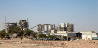 Modern plant in the desert, Jordan, Middle East.  stock image