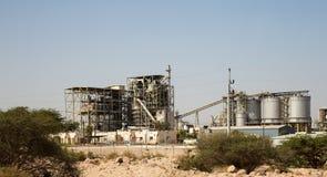 Modern plant in the desert, Jordan, Middle East.  stock images