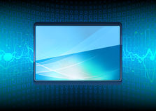 Modern Plasma TV Royalty Free Stock Photography