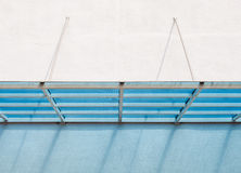 Modern plastic canopy Royalty Free Stock Photography