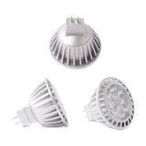 Modern plastic led bulb isolated Royalty Free Stock Images