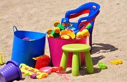 Modern plastic toys. Detail view, modern plastic toys royalty free stock photo