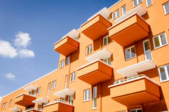 Modern plattenbau Royalty Free Stock Images