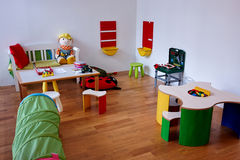 Modern play children's room Stock Photos