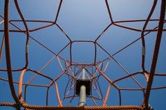 Modern playground attraction Stock Image
