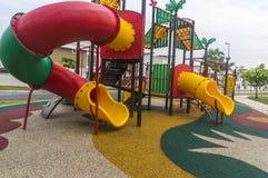 Modern playground Stock Photos