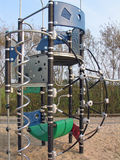 Modern playground equipment Stock Image