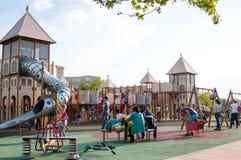 Modern playground Royalty Free Stock Image