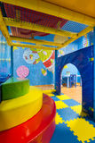 Modern playground in the room Royalty Free Stock Photography