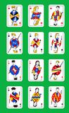 Modern playing cards Royalty Free Stock Image