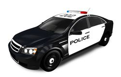 Modern Police Cruiser Stock Photos