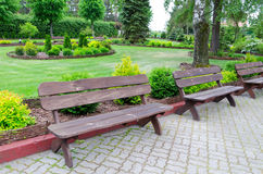 Modern Polish park Royalty Free Stock Photo