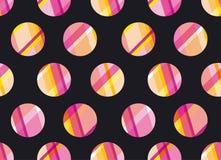 Modern polka dot seamless pattern, concept Stock Photo
