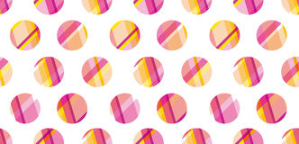 Modern polka dot seamless pattern, Stock Photos