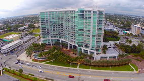 Modern Pompano Beach Architecture stock footage