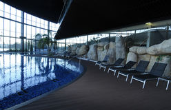 Modern pool Royalty Free Stock Photography