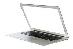 Modern popular business laptop notebook computer Stock Photos