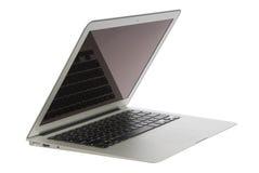 Modern popular laptop thin Stock Photography