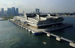Modern Port Building Royalty Free Stock Photo