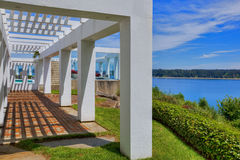 Modern Portico Royalty Free Stock Photography