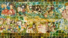 Modern Portuguese tiles Stock Photos