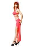 modern posera stil för dansare Royaltyfria Bilder