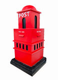 The Modern postbox Royalty Free Stock Images