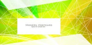 Modern postcard Stock Photos