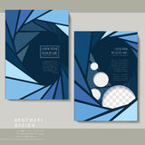 Modern poster template set Stock Images
