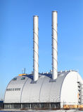 Modern power plant Stock Image