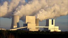 Modern power plant stock video