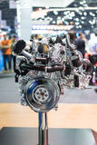 Modern powerful car engine Royalty Free Stock Image