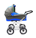 Modern pram isolated Royalty Free Stock Photo