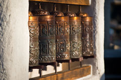Modern prayer wheel Royalty Free Stock Photography