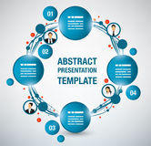 Presentation template Stock Photography