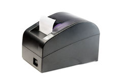 Modern printer checks for Point Of Sales systems. Stock Photography
