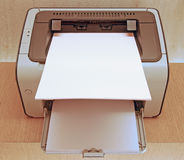 Modern Printer. With A4 Paper Feed stock images
