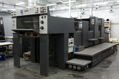 modern printing för hus Arkivbild