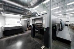 Modern printing house Royalty Free Stock Photos