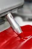 Modern Printing Press Ink Mixing. Stock Photos