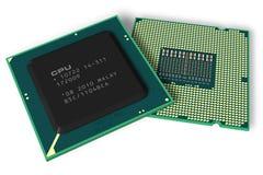 Modern processors Stock Photo