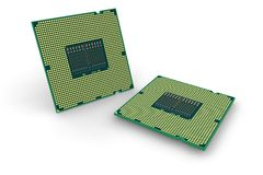 Modern processors Royalty Free Stock Images