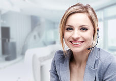Modern professional businesswoman Stock Photography