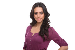 Modern professional businesswoman Stock Photography