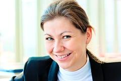 Modern professional businesswoman Stock Photo