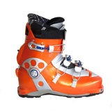 Modern professional ski boots Stock Image
