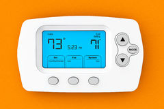 Modern Programming Thermostat Royalty Free Stock Photography