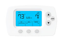 Modern Programming Thermostat Stock Photos