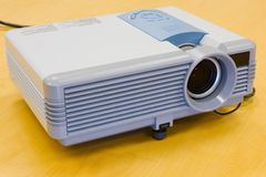 Modern projector royalty free stock photo